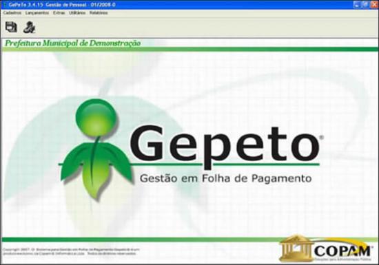 Gepeto | Folha de Pagamento