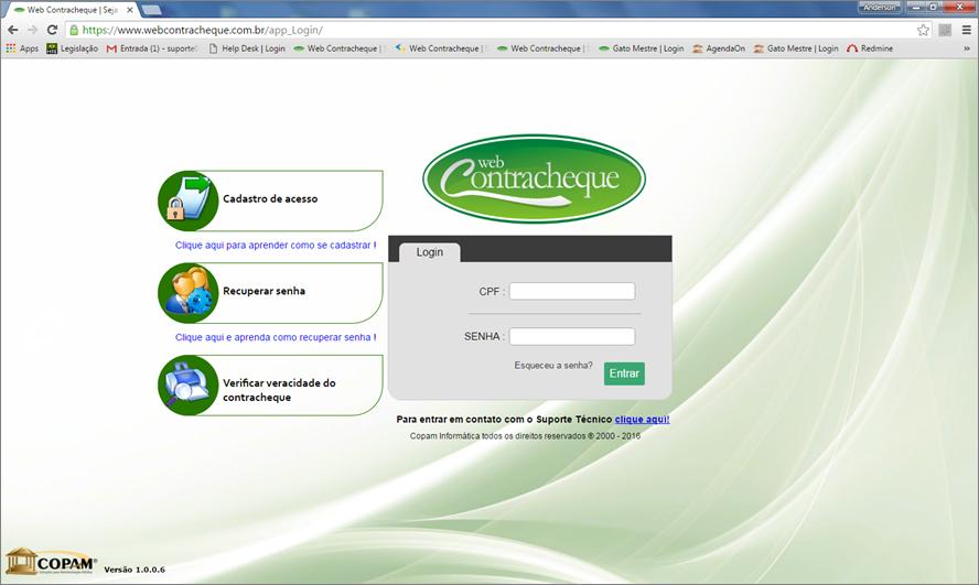Webcontracheque | Contra-cheque Online