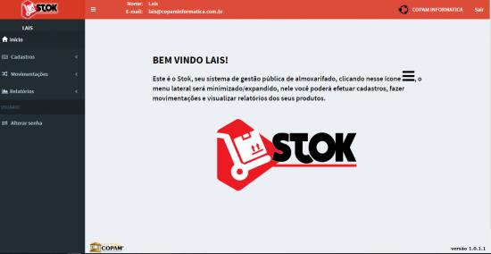 STOK | Gestão Pública de Almoxarifado